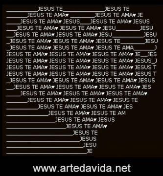 Mensagens para celular grátis - Jesus te ama